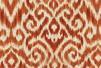 Williamsburg THOMPSON IKAT PERSIMMON 750572 Ikat Linen Blend Fabric