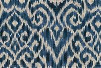 Williamsburg THOMPSON IKAT INK 750573 Ikat Linen Blend Fabric