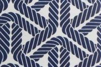 P/K Lifestyles PKL OD TOPSAIL TR NAVY 404652 Nautical Indoor Outdoor Upholstery Fabric