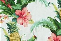 Tommy Bahama Home TBO BEACH BOUNTY LUSH GREEN 8015 Floral Indoor Outdoor Upholstery Fabric