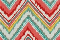 Dena Designs DDO CHEVRON CHARADE WATERMELON 9 Contemporary Indoor Outdoor Upholstery Fabric