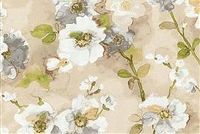 Waverly TREE BLOSSOM NATURAL 679292 Floral Print Fabric