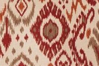 Trend 03366-VY SPICE Ikat Linen Blend Fabric