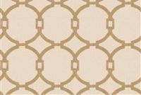 Trend 03186-VY TAN Lattice Embroidered Fabric