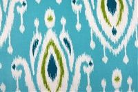 6939211 CONLEY PEACOCK Ikat Indoor Outdoor Upholstery Fabric