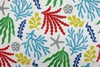 Swavelle Mill Creek BASHOR/FRESCO PRIMARY Tropical Indoor Outdoor Upholstery Fabric