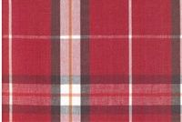 6950414 HARRISON D3187 PERSIMMON Plaid Upholstery And Drapery Fabric