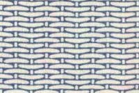 Magnolia Home Fashions BASKET WEAVE BLUE Tropical Print Fabric