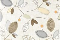 Magnolia Home Fashions CALDER DUNE Floral Print Fabric