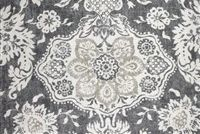Magnolia Home Fashions BELMONT METAL Floral Print Upholstery And Drapery Fabric