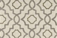 Magnolia Home Fashions TALBOT METAL Lattice Print Fabric