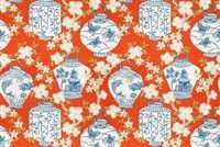 Trend 03710-T PUMPKIN Linen Blend Upholstery And Drapery Fabric