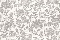 Trend 03719-T PLATINUM Floral Linen Blend Upholstery And Drapery Fabric