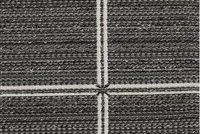 Bella-Dura ARMANI CHARCOAL Check / Plaid Indoor Outdoor Upholstery Fabric