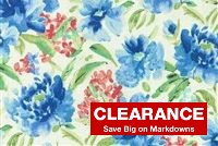 Waverly SPRING FORTH BLUEBELL 679781 Floral Print Fabric