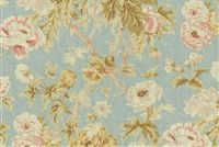 Waverly AMONG THE ROSES MIST 679732 Floral Print Fabric