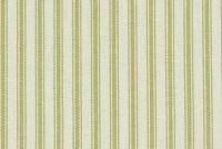 Waverly CLASSIC TICKING SAGE RB 652223 Ticking Stripe Print Upholstery And Drapery Fabric
