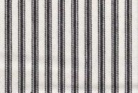 Waverly CLASSIC TICKING BLACK RB 652227 Ticking Stripe Print Upholstery And Drapery Fabric