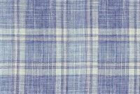 Waverly HIGHLAND HAZE INDIGO 654130 Plaid Linen Blend Fabric