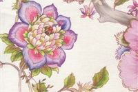Braemore SABINE 001 OPAL Floral Linen Fabric