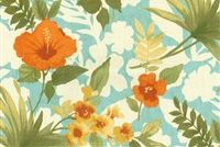 Tommy Bahama Home TBO POOL PARTY SEASPRAY 801630 Floral Indoor Outdoor Upholstery Fabric