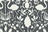 Dena Designs DDO SUMMER SET LICORICE 900532 Tropical Indoor Outdoor Upholstery Fabric