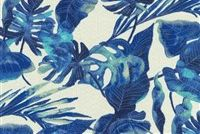 Tommy Bahama Home TBO INKY PALMS INDIGO 801641 Floral Indoor Outdoor Upholstery And Drapery Fabric