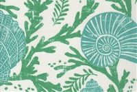 P Kaufmann ODL COVE 001 EMERALD Tropical Indoor Outdoor Upholstery Fabric