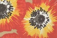 P Kaufmann ODL POPPY PATCH 002 SUNSHINE Floral Indoor Outdoor Upholstery And Drapery Fabric
