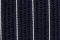 P Kaufmann BOAT HOUSE ST 406 NAVY Stripe Indoor Outdoor Upholstery Fabric