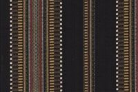Roth & Tompkins DAKOTA D3209 BLACK Stripe Fabric