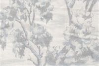 Fabricut ARBE TOILE CHAMBRAY Floral Print Fabric