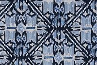 Lacefield Designs HAVANA WEDGEWOOD Ikat Print Upholstery And Drapery Fabric