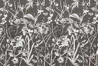 Lacefield Designs GARDEN PARTY INK Floral Linen Blend Upholstery And Drapery Fabric