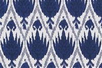 Lacefield Designs CASABLANCA MIDNIGHT Ikat Print Fabric