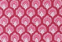 Lacefield Designs ISLA MULBERRY Lattice Print Upholstery And Drapery Fabric