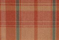 8380611 AUGUSTUS CORAL POPPY Plaid Crypton Commercial Upholstery Fabric