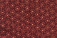 8382114 KROY GARNET Floral Jacquard Upholstery Fabric