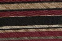 9036314 CLIFFORD BLACK CHERRY Stripe Jacquard Fabric