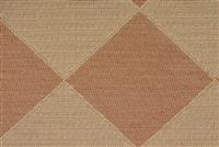 9036716 MURRAY TERRACOTTA Diamond Jacquard Fabric