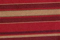 9056813 MANDERSON MAYAN RED Stripe Jacquard Fabric