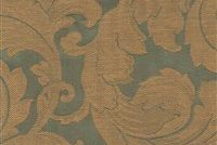 9358114 PINE GREEN Floral Jacquard Fabric